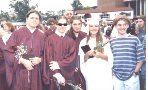 Lewsers n Kim at TRHSS Graduation